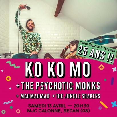 Soirée Sapristi!! - Ko Ko Mo +...  en concert