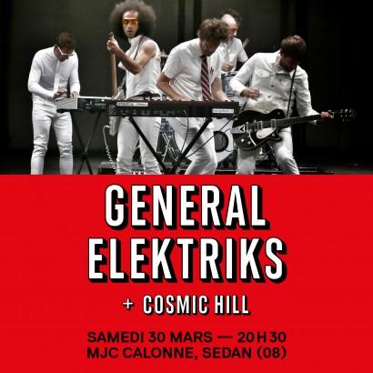Soirée Sapristi!! - General Elektriks en concert
