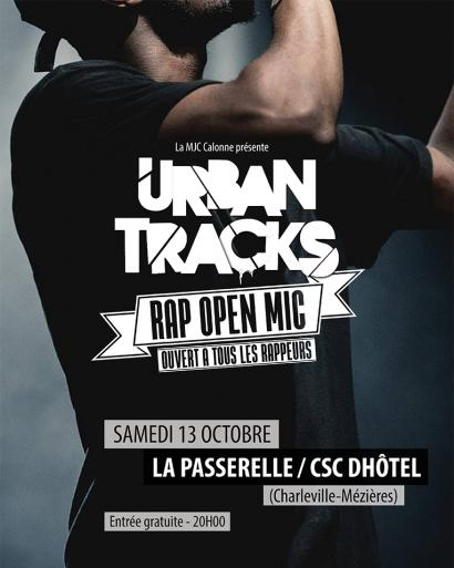 Urban Tracks - Rap Open Mic